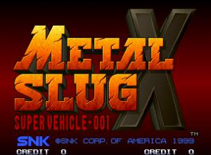 メタルスラッグX