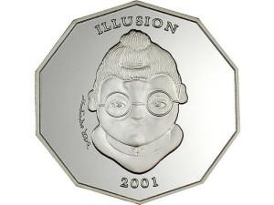 リベリア-2001年-10ドル