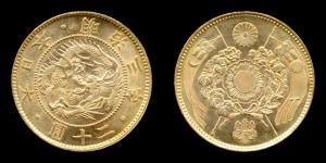 日本20円金貨