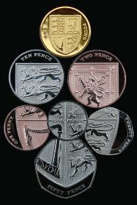 イギリスの硬貨