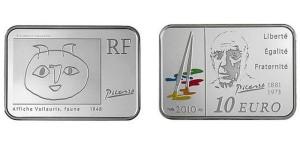 フランス-2010年-10ユーロ