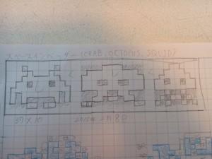 網戸ット -スペースインベーダー設計図-
