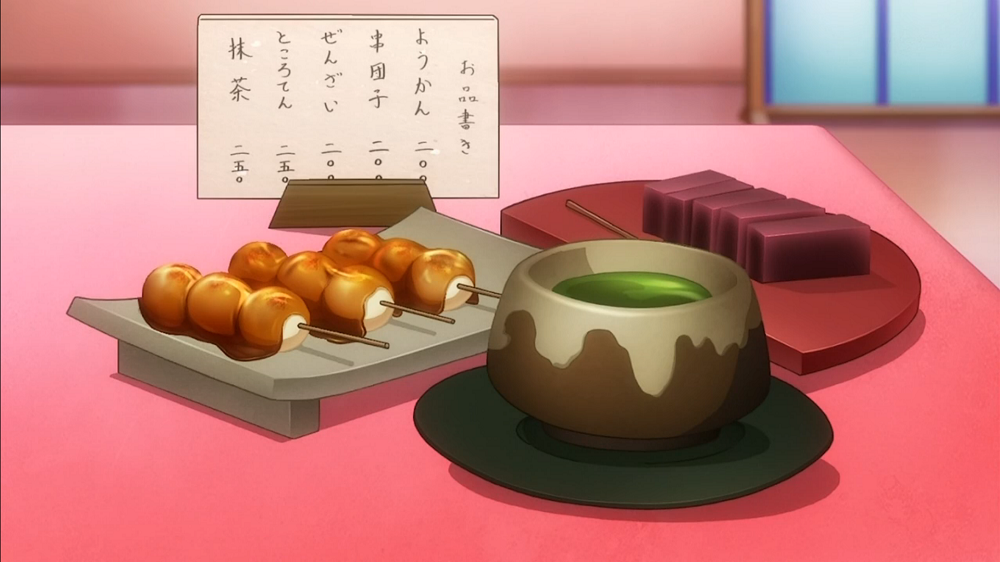 アニメの美味しそうな食べ物