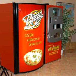 イギリス-ピザの自動販売機-