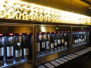 ワインの自動販売機