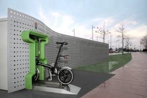 自転車の自動販売機