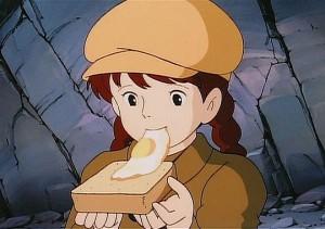 ラピュタ-目玉焼き-シータ