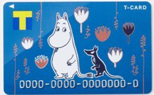 Tカード (ムーミンデザイン)