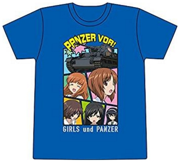 プラッツ あんこうチームのTシャツ